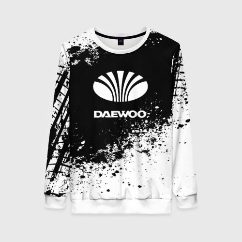 Женский свитшот 3D Daewoo abstract sport