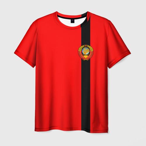 Мужская футболка 3D С гербом СССР
