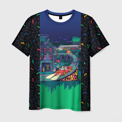 Мужская футболка 3D Kizaru Яд