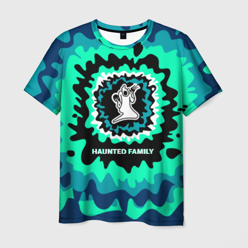 Мужская футболка 3D Haunted Family
