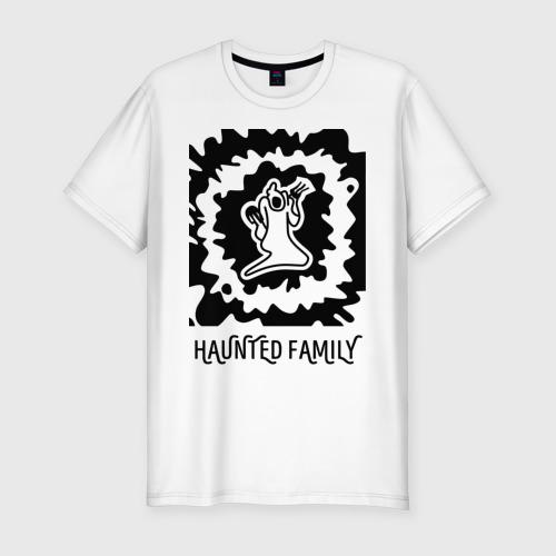 Мужская футболка хлопок Slim Haunted Family