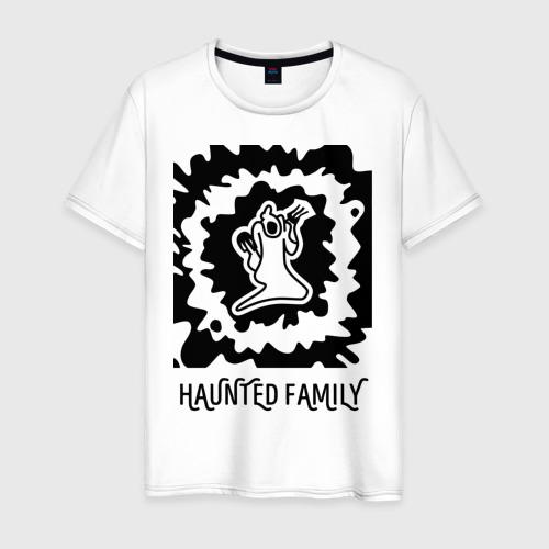 Мужская футболка хлопок Haunted Family