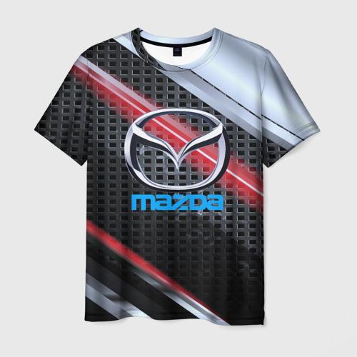 Мужская футболка 3D MAZDA high speed collection