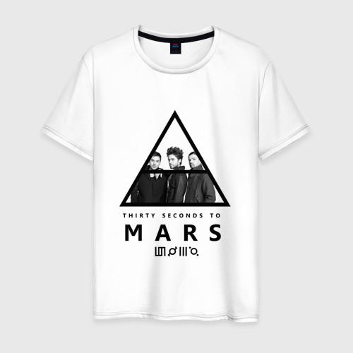 Мужская футболка хлопок Thirty Seconds to Mars