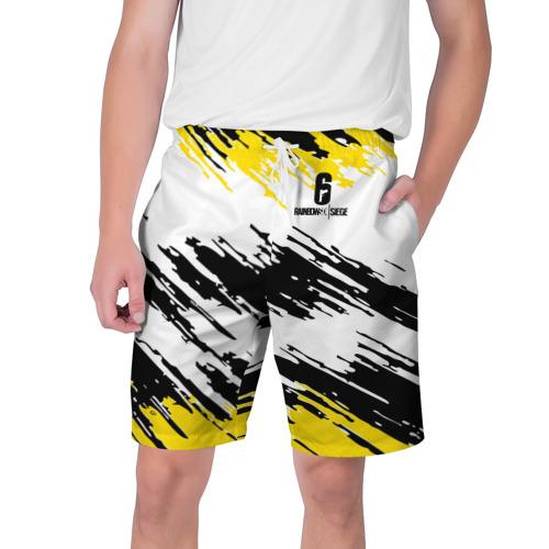 Мужские шорты 3D RAINBOW SIX SIEGE | РАДУГА 6 ОСАДА | R6S
