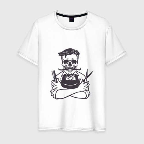 Мужская футболка хлопок Barber master