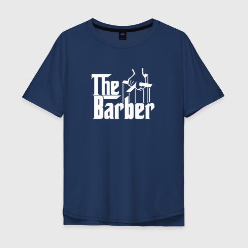 Мужская футболка хлопок Oversize The Barber godfather