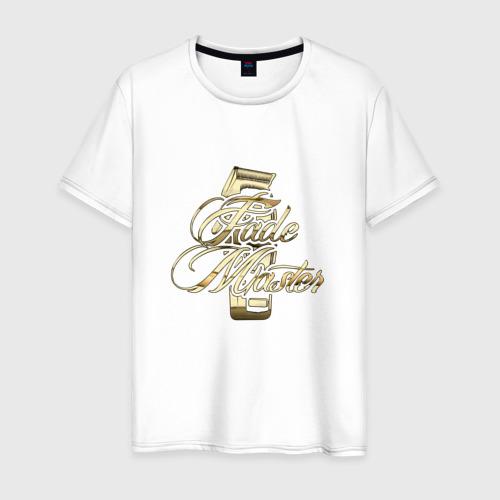 Мужская футболка хлопок Fade Master   Gold Фейд Мастер
