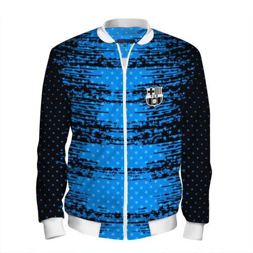 Мужской бомбер 3D Barcelona sport uniform