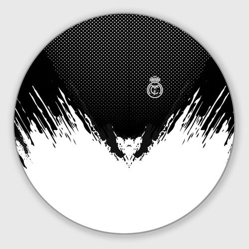 Коврик для мышки круглый Real Madrid black 2018