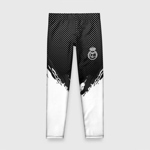 Детские леггинсы 3D Real Madrid black 2018