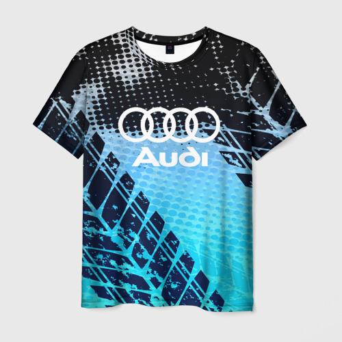 Мужская футболка 3D Audi sport auto motors