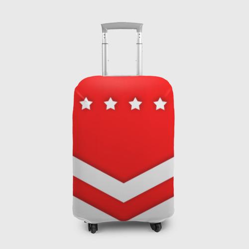 Чехол для чемодана 3D Звезды и полосы