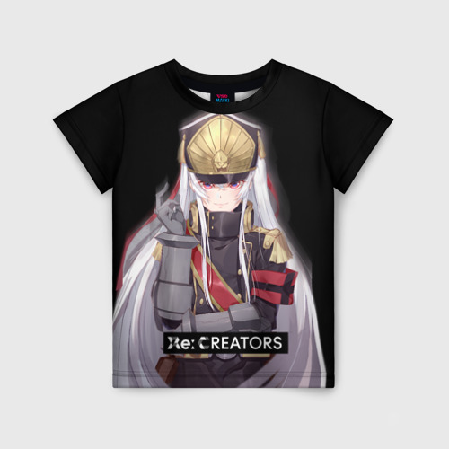 Детская футболка 3D Re:Creators 3