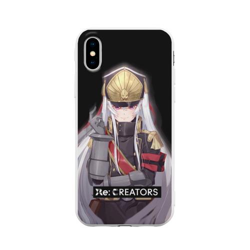 Чехол для iPhone X матовый Re:Creators 3