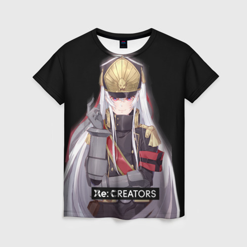 Женская футболка 3D Re:Creators 3