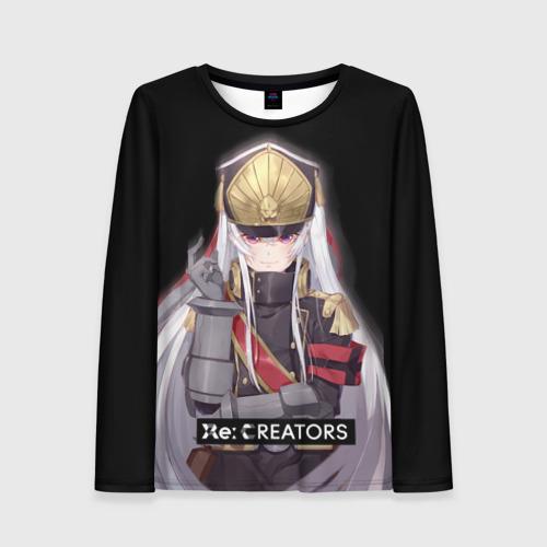 Женский лонгслив 3D Re:Creators 3