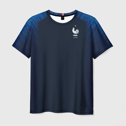 Мужская футболка 3D France home WC 2018