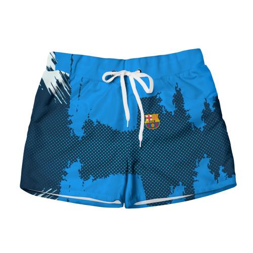 Женские шорты 3D BARCELONA SPORT BLUE