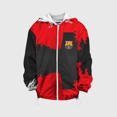 Детская куртка 3D BARCELONA SPORT RED