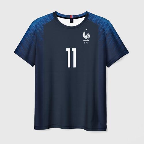 Мужская футболка 3D Dembele home 18-19 WC