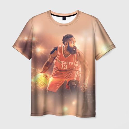 Мужская футболка 3D NBA Stars