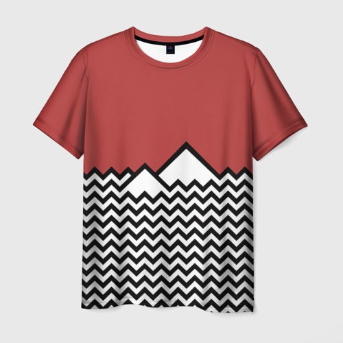 Мужская футболка 3D Твин Пикс