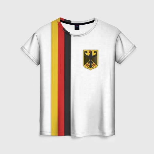 Женская футболка 3D I Love Germany