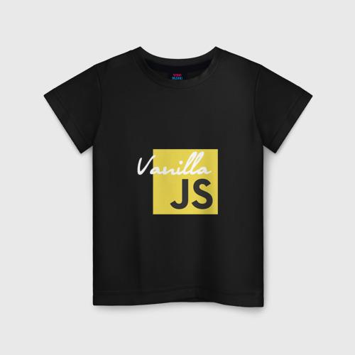 Детская футболка хлопок Vanilla JS