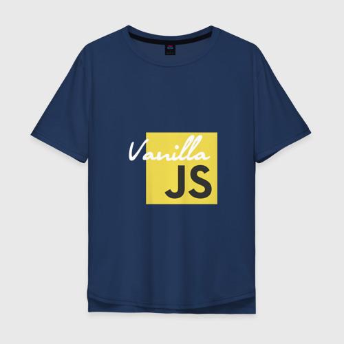 Мужская футболка хлопок Oversize Vanilla JS