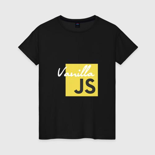 Женская футболка хлопок Vanilla JS