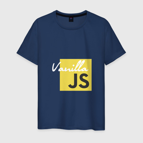 Мужская футболка хлопок Vanilla JS