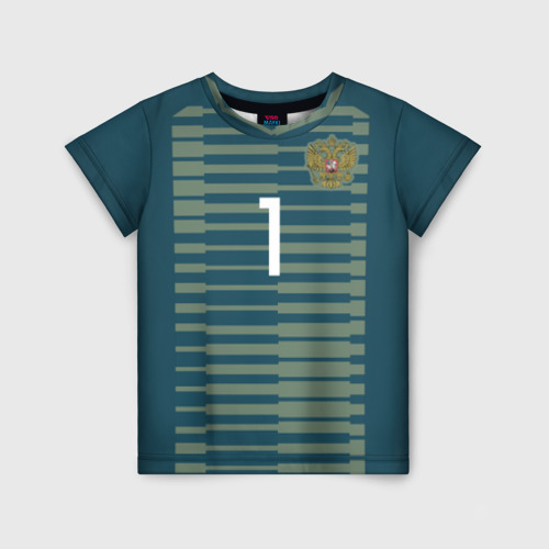 Детская футболка 3D Акинфеев ЧМ 2018