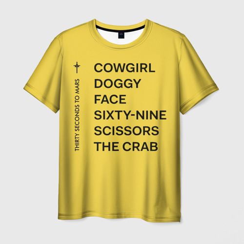 Мужская футболка 3D Новый Альбом