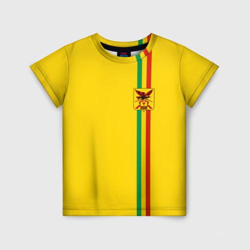 Детская футболка 3D Забайкальский край
