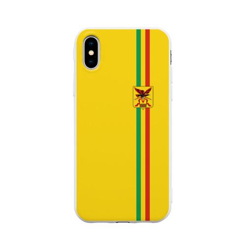 Чехол для iPhone X матовый Забайкальский край