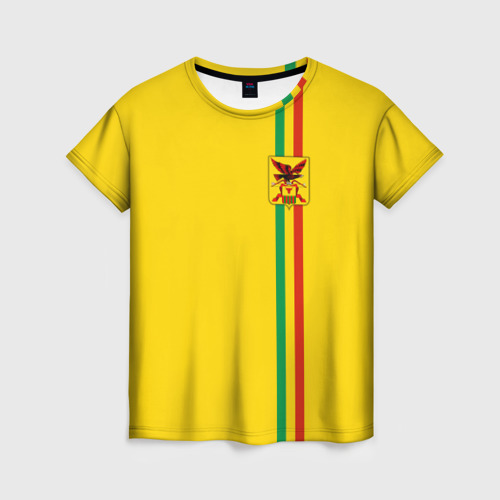 Женская футболка 3D Забайкальский край