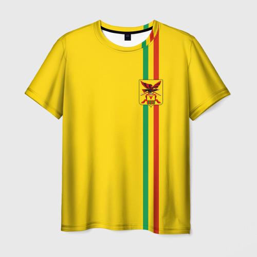 Мужская футболка 3D Забайкальский край