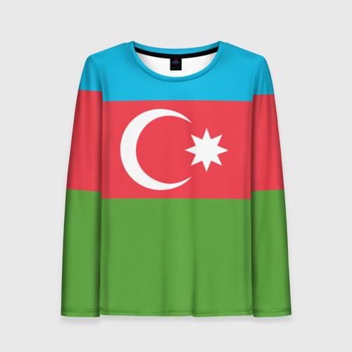 Женский лонгслив 3D Азербайджан