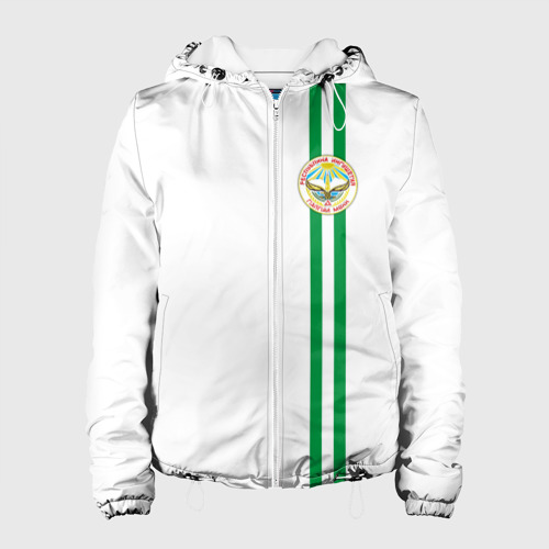 Женская куртка 3D Ингушетия, лента с гербом
