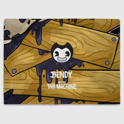Плед 3D Bendy and the Ink Machine