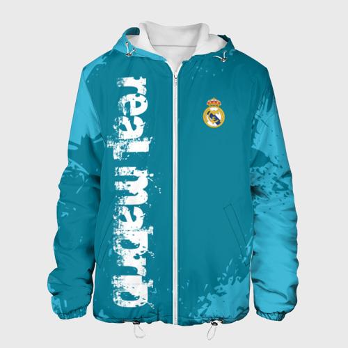 Мужская куртка 3D REAL MADRID