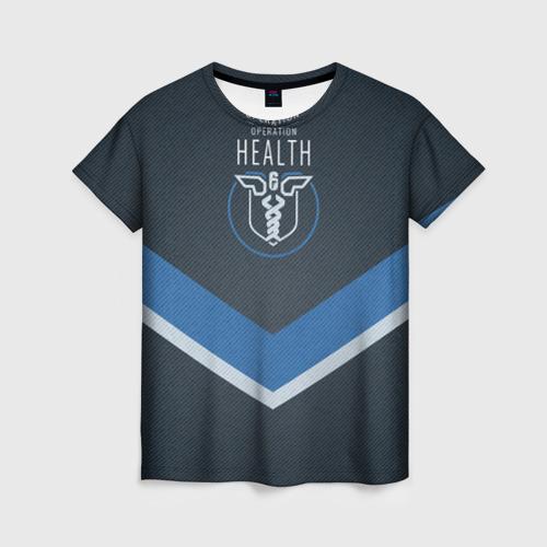 Женская футболка 3D RSS Operation health