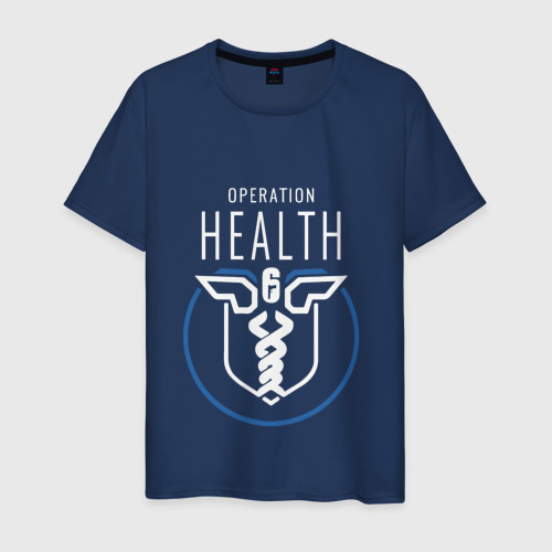 Мужская футболка хлопок Operation health