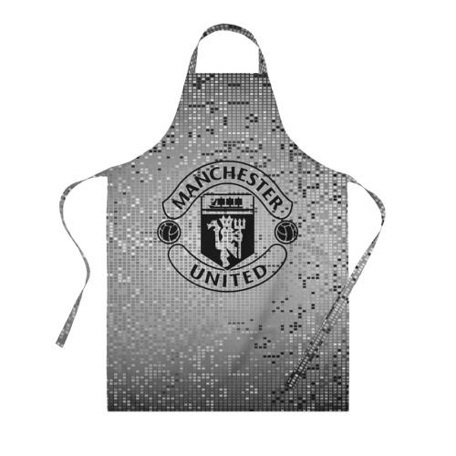 Фартук 3D Манчестер Юнайтед Pixels