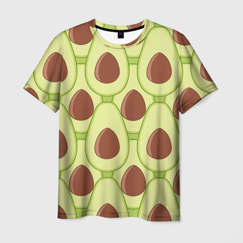 Мужская футболка 3D Авокадо