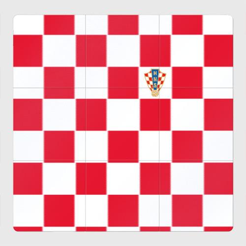 Магнитный плакат 3Х3 Хорватия домашняя форма 2018