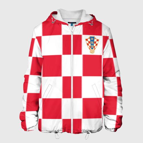 Мужская куртка 3D Хорватия домашняя форма 2018