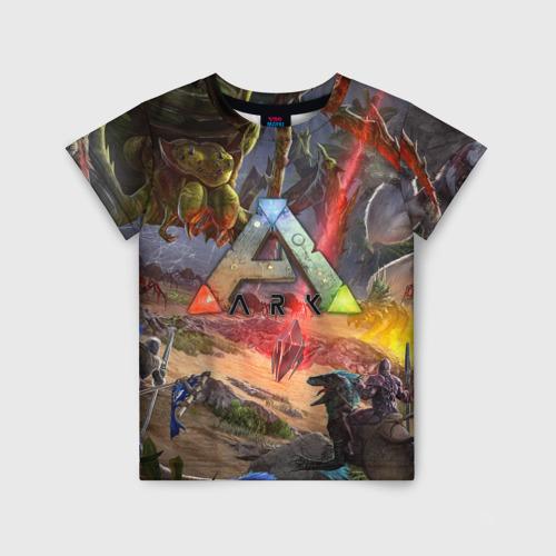 Детская футболка 3D Ark: Survival Evolved