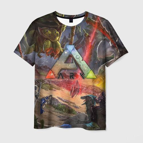 Мужская футболка 3D Ark: Survival Evolved